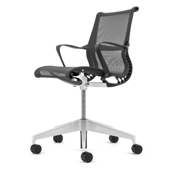 Herman Miller Setu Graphite - Premium Refurbished
